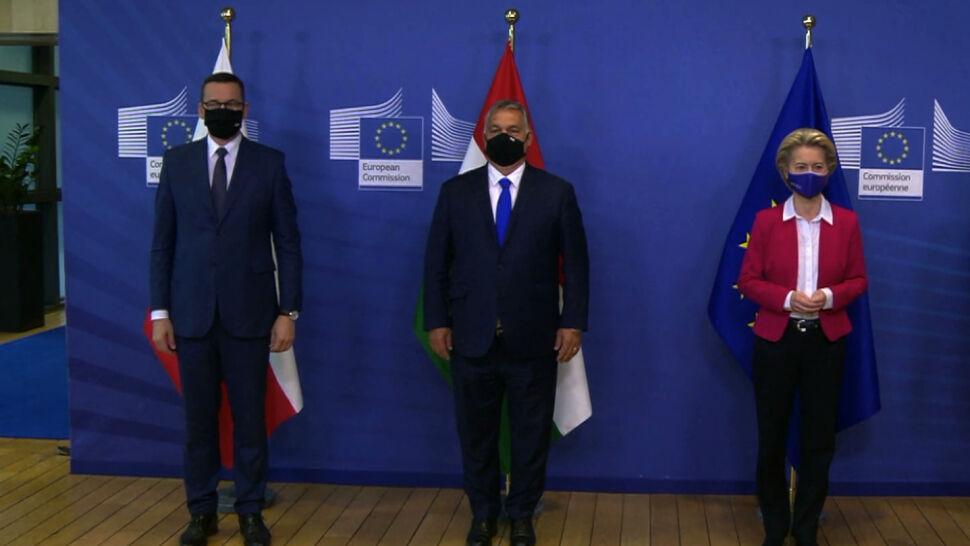 Retoryka podobna do polskiej, inne kwestie sporne. Co dzieli Brukselę i Budapeszt?