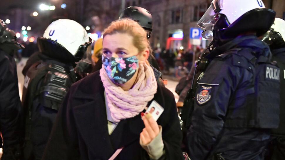 Barbara Nowacka potraktowana gazem. Bilans sobotniego strajku kobiet w Warszawie