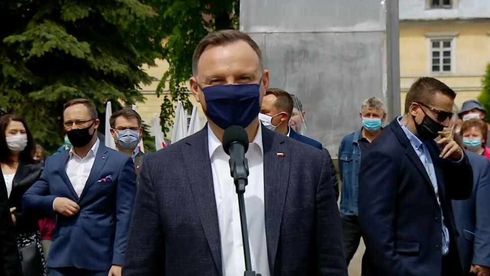 Pełnomocnik Andrzeja Dudy złożył zawiadomienie w sprawie kontrkandydatów prezydenta