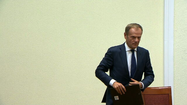 As a former prime minister of Poland and the current Council president, Tusk would not face any questions about whether he has experience of high-level executive office