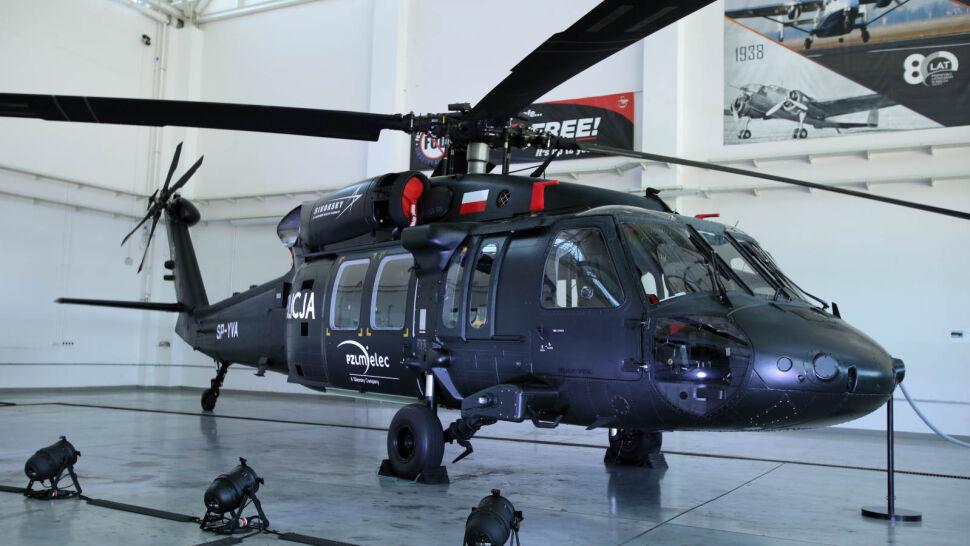 Dwa Black Hawki dla polskiej policji