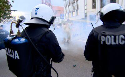 Zatrzymania po próbach zablokowania Marszu Równości w Białymstoku
