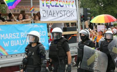 Marsz Równości w Białymstoku. Towarzyszyły mu akty nienawiści i przemocy