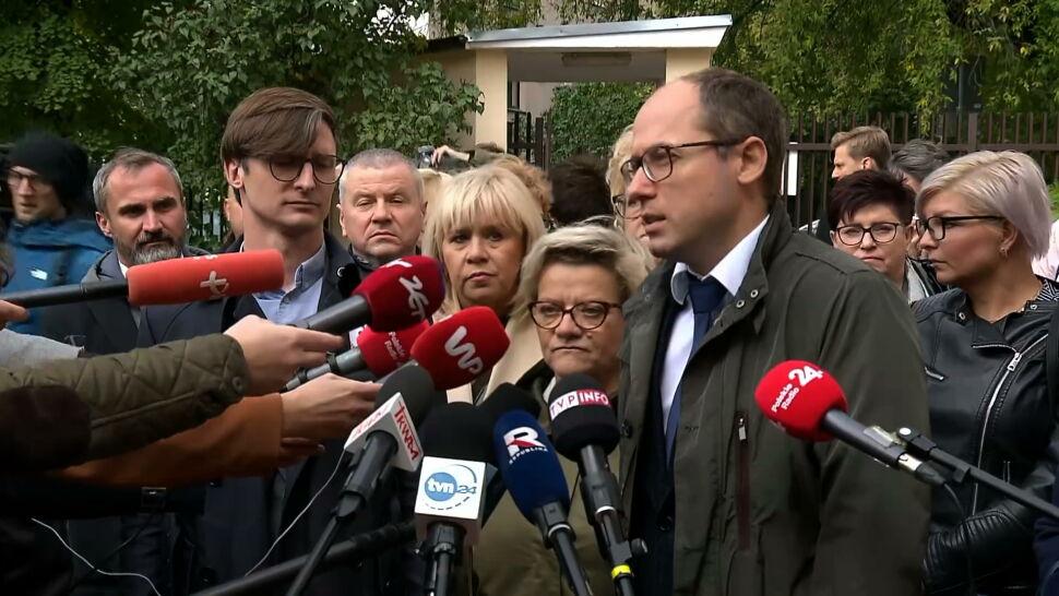 Protestujący medycy spotkali się z wiceministrem Piotrem Bromberem. Przedstawili swoje żądania