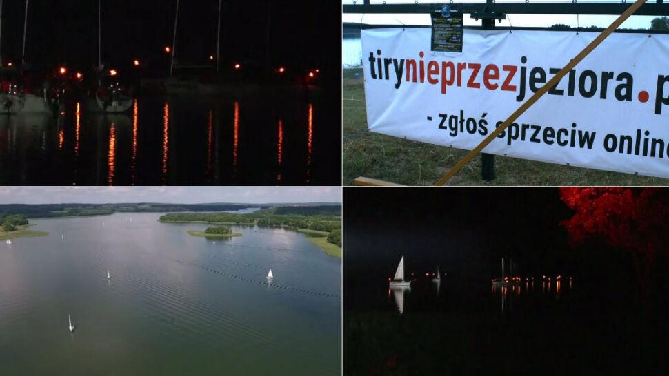 """Czteropasmowa trasa przez Krainę Wielkich Jezior? """"Postęp cywilizacyjny nie znaczy, że mamy zniszczyć wszystko"""""""