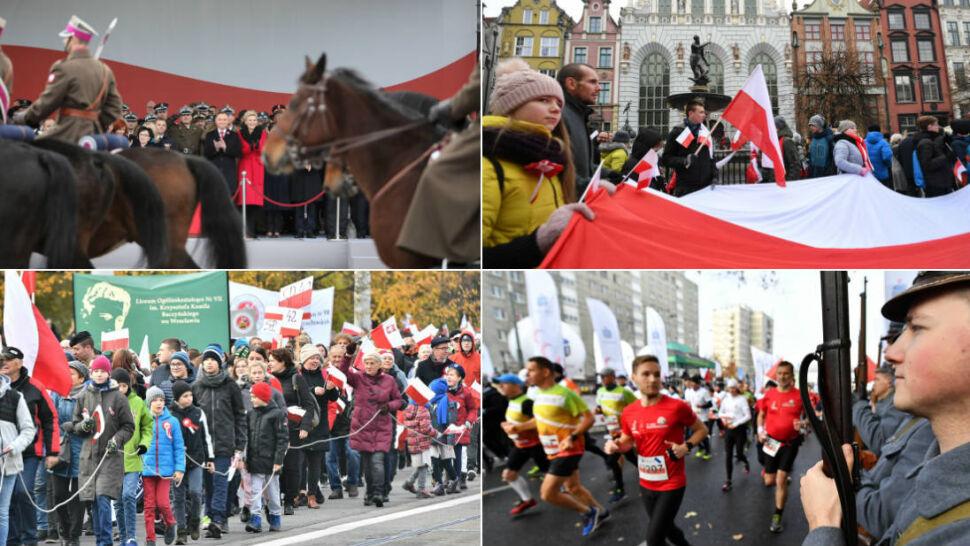 Patriotycznie, narodowo i tradycyjnie. Polacy świętowali 101. rocznicę odzyskania niepodległości