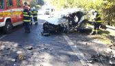 Sportowe auta z Polski i wypadek na Słowacji. Policja: będziemy bezwzględni