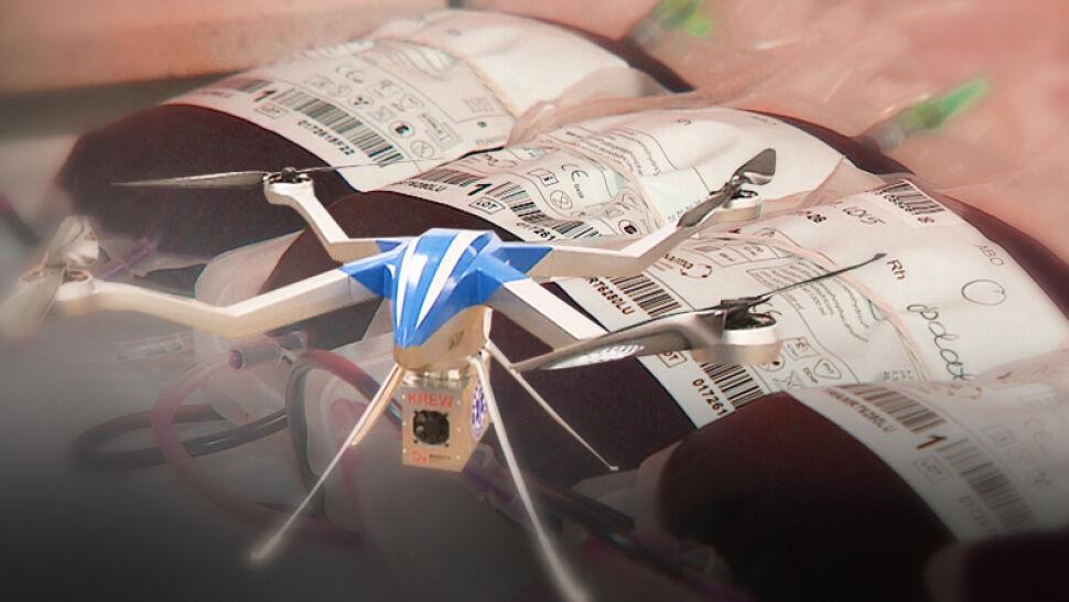 """Potrzebna krew do szpitala przyleci dronem? Ministerstwo Zdrowia nie mówi """"nie"""""""