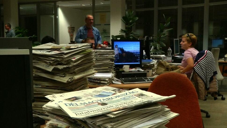 """Sytuacja mediów na Węgrzech. """"Dziennikarstwo to teraz ryzykowny zawód"""""""