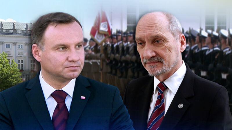 """Ciąg dalszy konfliktu Andrzej Duda-Antoni Macierewicz. """"Wojna pokazująca brak spójnej polityki obronnej"""""""