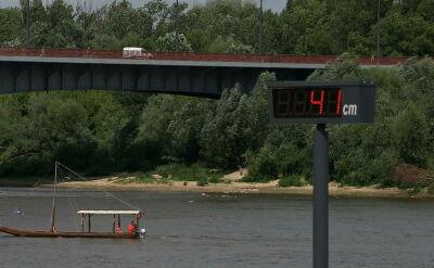 Alarmująco niski poziom wody w Wiśle. Nic nie zwiastuje poprawy