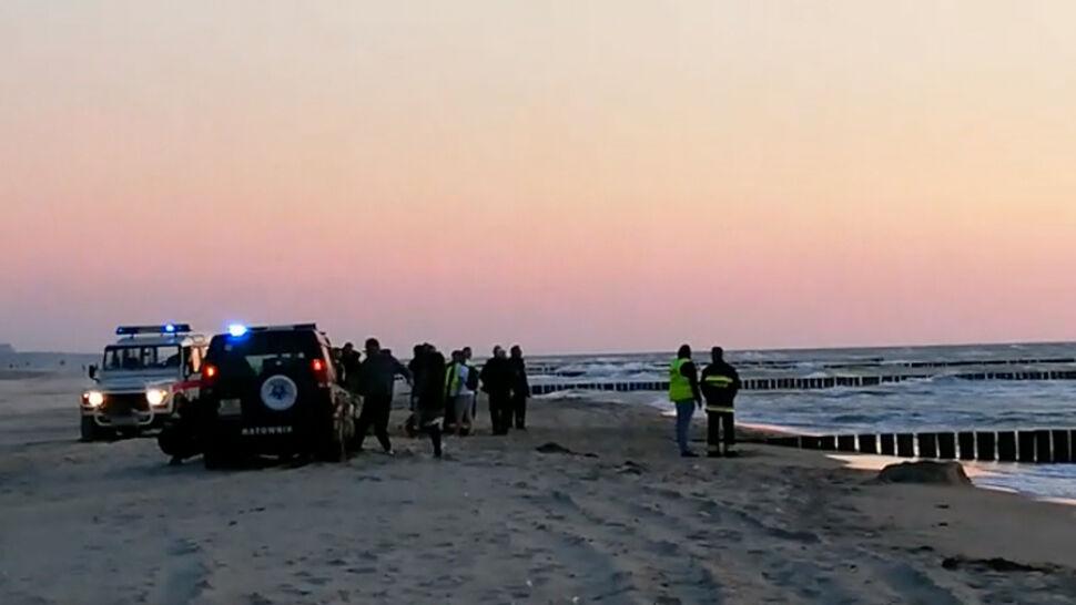 """""""Ekstremalnie trudna"""" akcja nad Bałtykiem. Dwie osoby utonęły w morzu"""