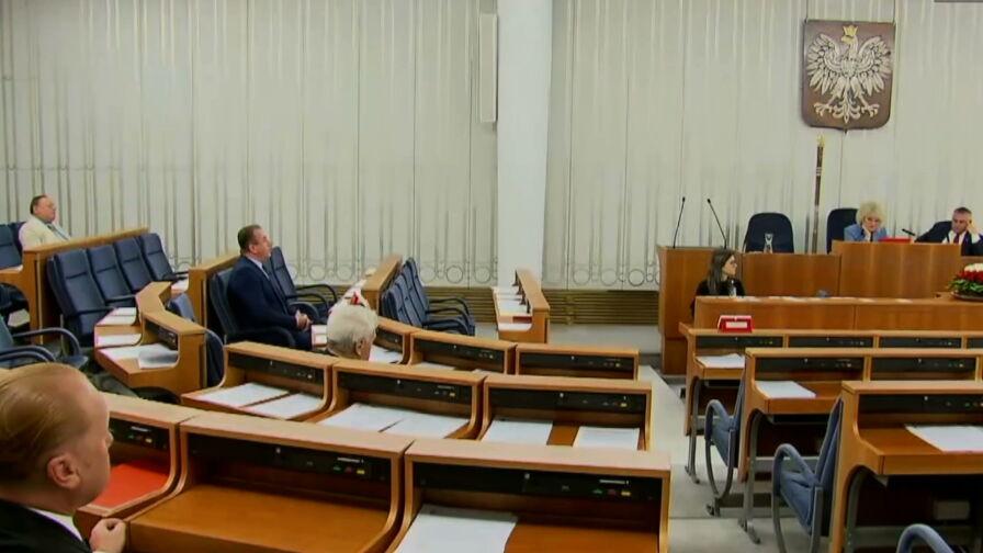 Opozycja ogłosiła kandydata na marszałka Senatu