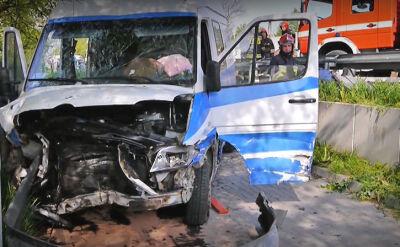 01.05.2014 | Tragiczny wypadek busa w miejscowości Bojmie na Mazowszu
