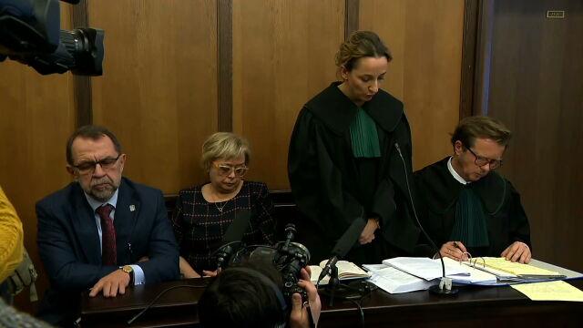 Małgorzata Gersdorf and Krzysztof Rączka have sued Stanisław Piotrowicz. The trial has begun