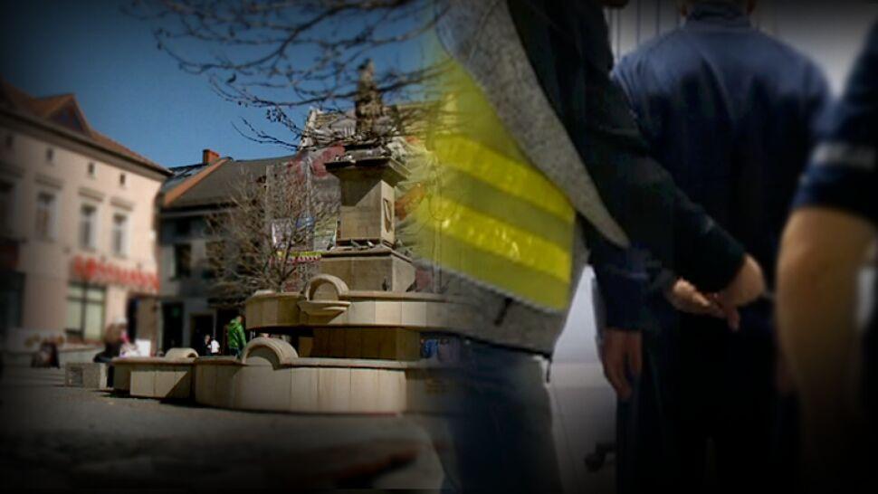Nagły atak nożownika na rynku w Rybniku. Trzy osoby ranne
