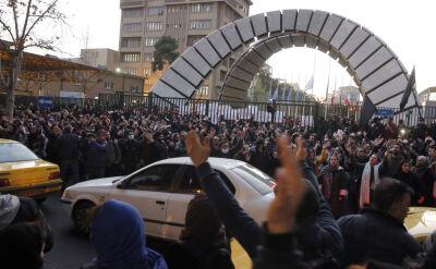 Demonstracje w Teheranie. Padły żądania rozliczenia odpowiedzialnych za katastrofę boeinga
