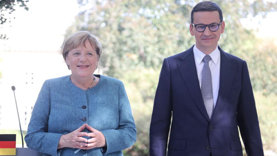 Wizyta Angeli Merkel w Polsce. Kanclerz Niemiec spotkała się z premierem Mateuszem Morawieckim