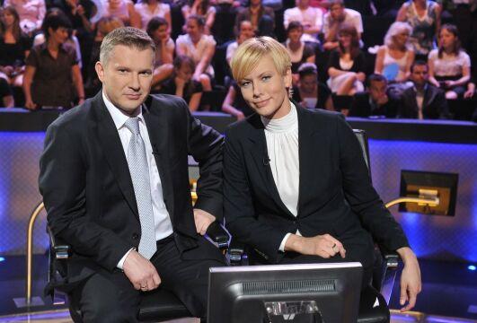 Grzegorz Kajdanowicz i Anita Werner