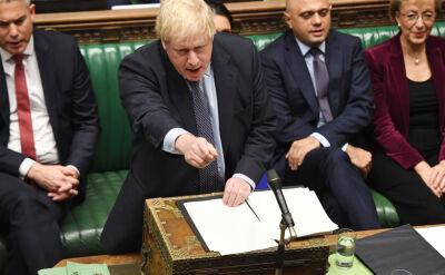 Dwa listy Johnsona w sprawie brexitu. Na jednym nie było podpisu