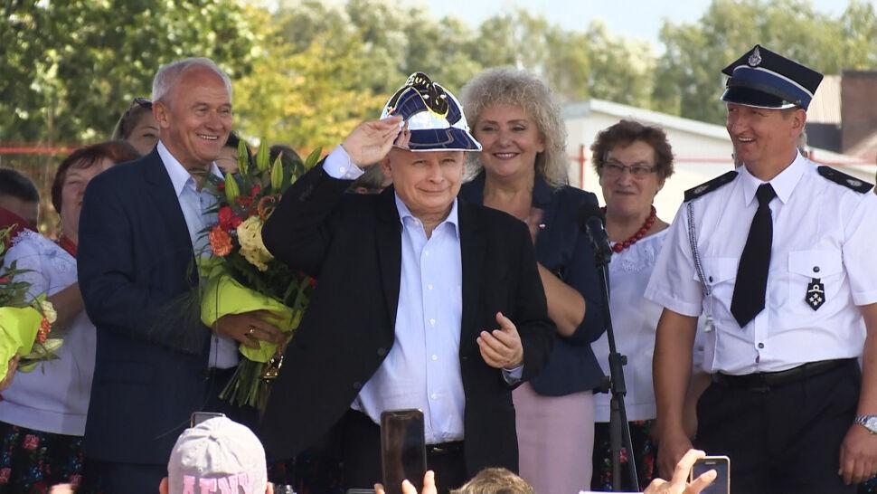 Pierwszy formalnie kampanijny weekend. Prezes Kaczyński obiecuje nowy program rolny