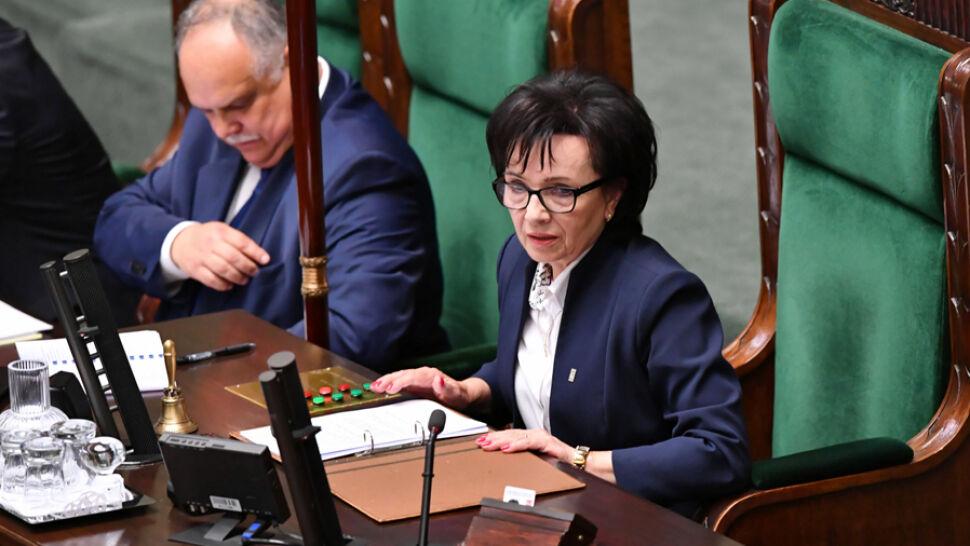 """Nowa marszałek, nowe porządki w Sejmie? """"Mamy bardzo konkretne oczekiwania"""""""