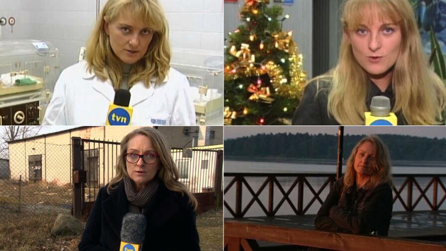 """20 lat Marzanny Zielińskiej w """"Faktach"""" TVN"""