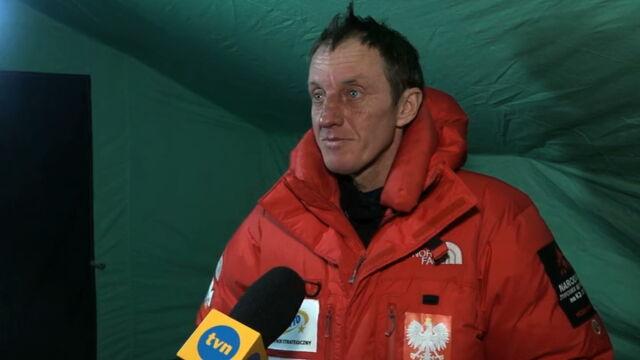 Urubko: na K2 wpadłem w szczelinę, cudem się wydostałem