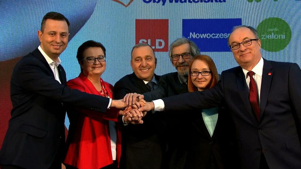 Koalicja Europejska oficjalnie zawiązana. Liderzy podpisali dokument