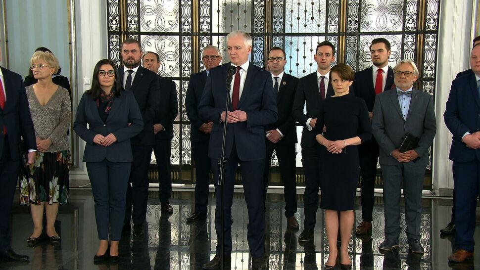Spór o termin wyborów. Jarosław Gowin podaje się do dymisji