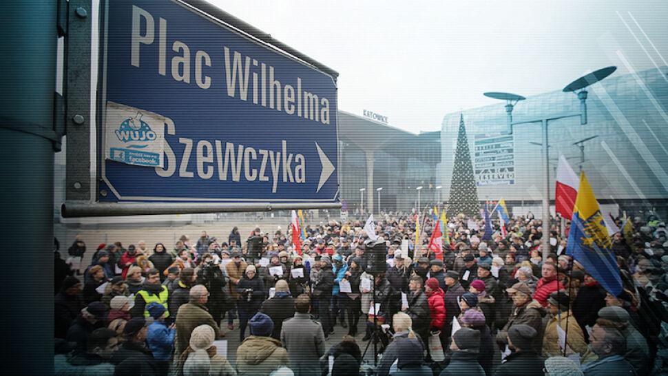 """""""Krzywda dla nich, nie dla Szewczyka"""". Protestują przeciwko decyzji wojewody"""