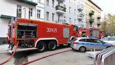 Pożar w kamienicy w Szczecinie. Trzy osoby nie żyją