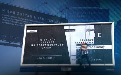 PKW ma rozstrzygnąć, czy kampania billboardowa była bezprawna. Opozycja składa kolejne zawiadomienia
