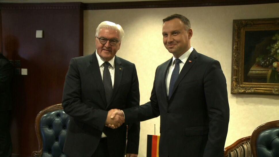 Prezydenci Polski i Niemiec rozmawiali na Malcie o reparacjach