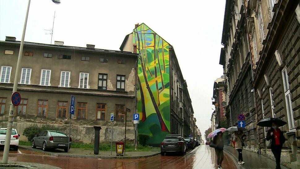 W Bielsku-Białej powstał antysmogowy mural