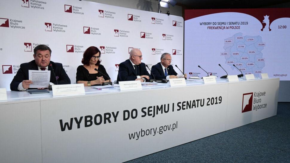 Najwyższa frekwencja jest w Warszawie. PKW podała dane