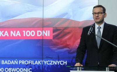 """Nowa """"piątka PiS"""". Premier Morawiecki wraca do pracy w kampanii"""