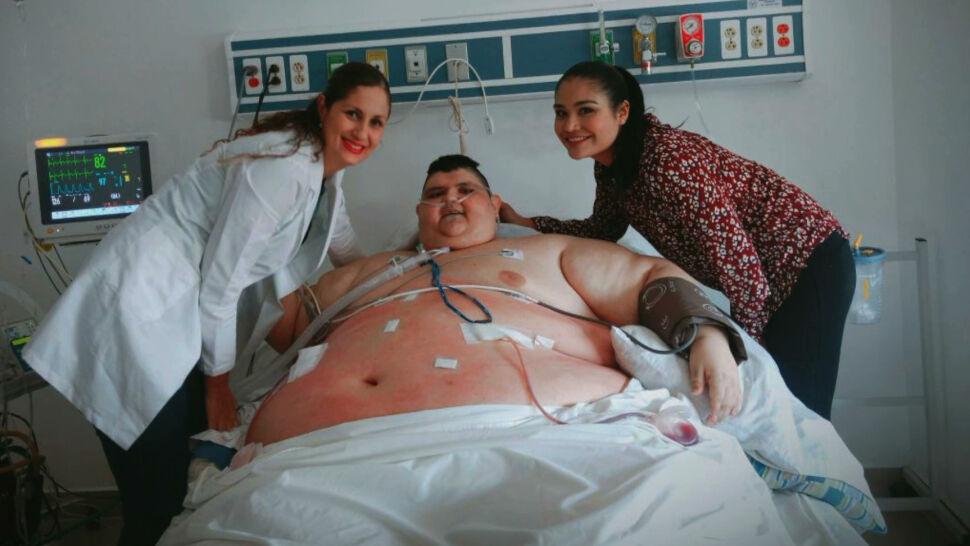 Juan już nie jest najcięższym człowiekiem świata. W trzy lata schudł ponad 300 kilogramów