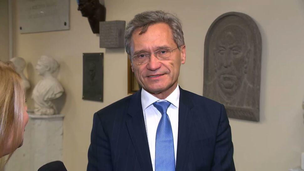 Zbigniew Gaciong nie zamierza odejść ze stanowiska rektora WUM. Wydał oświadczenie