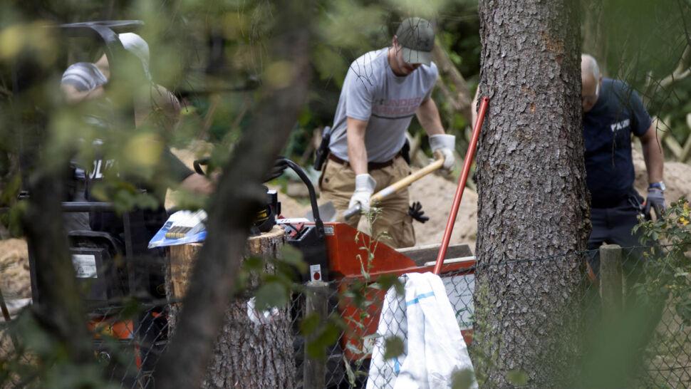 Poszukiwania ciała Madeleine McCann. Policjanci na działce pod Hanowerem