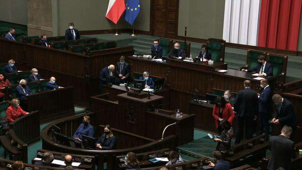 Stan gry przed głosowaniem w Sejmie