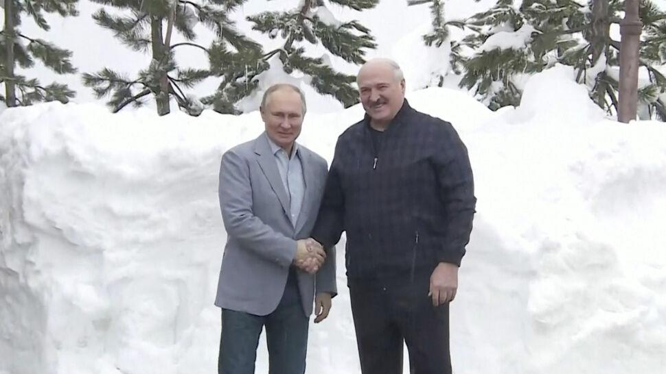 Łukaszenka i Putin spotkali się w Soczi