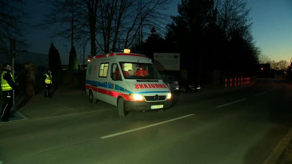 """Nocna ewakuacja z DPS w Drzewicy. Wcześniej """"płacz z bezsilności oraz prośby o pomoc"""""""
