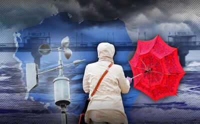 Gdzie jeszcze zaatakuje cyklon Grzegorz? Prognoza na najbliższe godziny