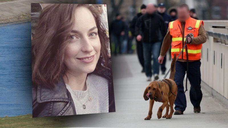 17.02.2016 | Poznań: zamknięte ulice, a na nich psy policyjne z Niemiec. Szukały tropów Ewy Tylman