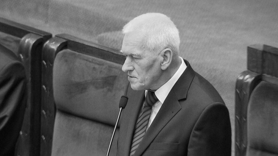 """""""Odszedł człowiek naprawdę wybitny"""". Politycy żegnają Kornela Morawieckiego"""