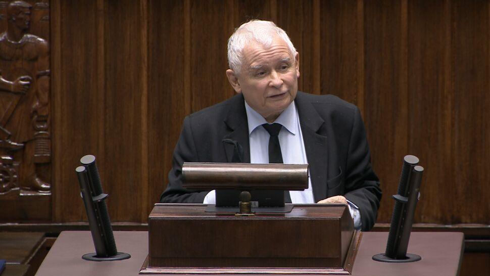 Lawina komentarzy po niespodziewanym wystąpieniu Jarosława Kaczyńskiego