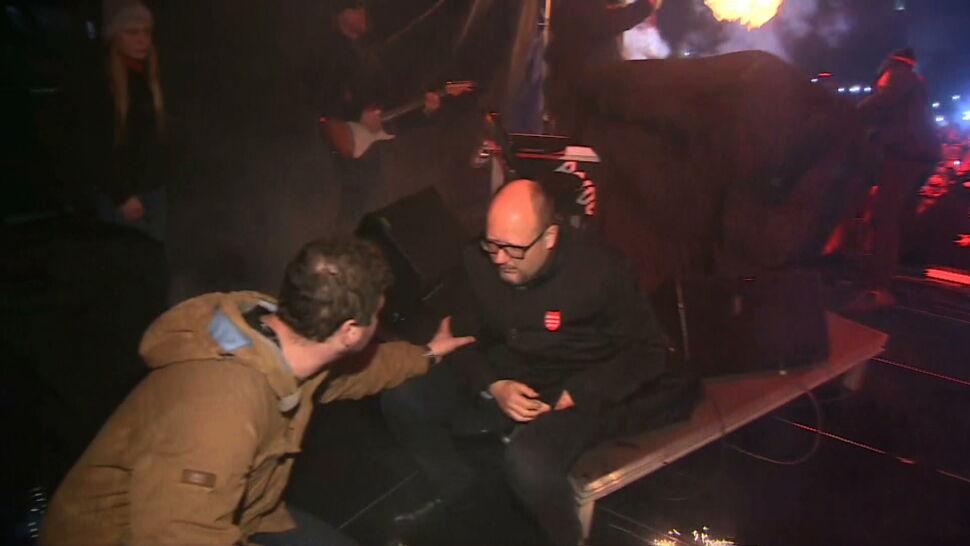 Rocznica śmierci Pawła Adamowicza. Nagranie ze sceny chwilę po ataku