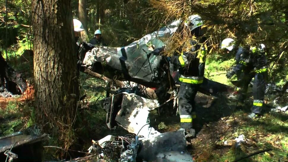 Wypadek niewielkiego samolotu. Zginęły dwie osoby