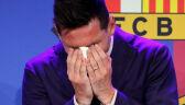 08.08.2021 | Leo Messi pożegnał się z Barceloną. Nie umiał powstrzymać łez